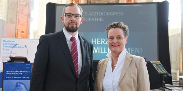 Der Deutsche Ärztekongress für Homöopathie 2019 in Stralsund ist eröffnet!