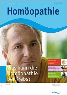 Cover Homöopathie Winter 2014/2015