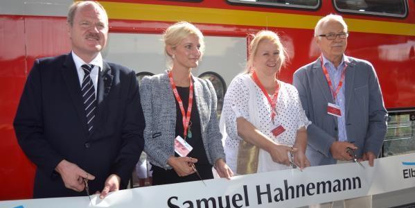 Ein Zug namens Samuel Hahnemann