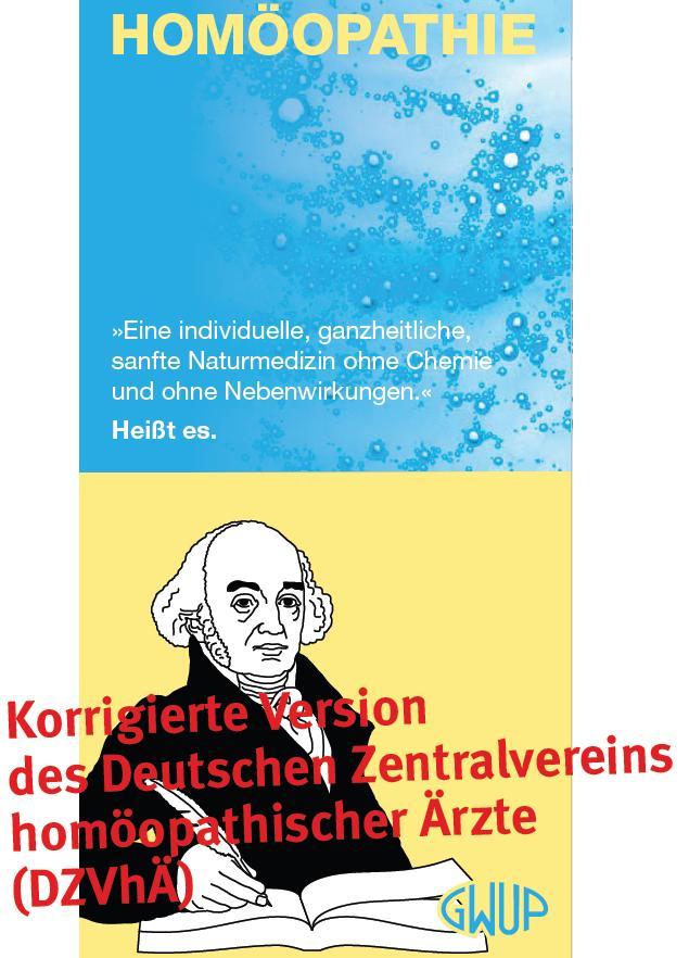 Titel: Korrigiertes Faltblatt des GWUP