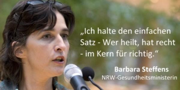 Komplementärmedizin: Interview mit NRW-Gesundheitsministerin Barbara Steffens