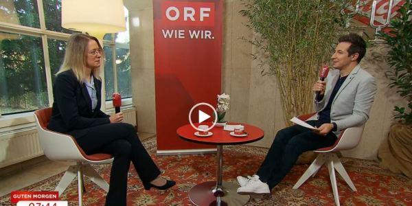 ORF-Interview über Tiermedizin und Homöopathie.