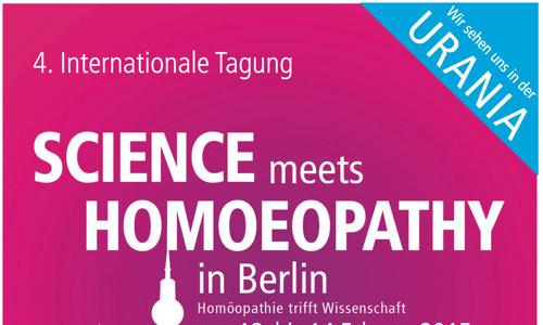 Homöopathie trifft Wissenschaft! – Internationale Tagung in Berlin
